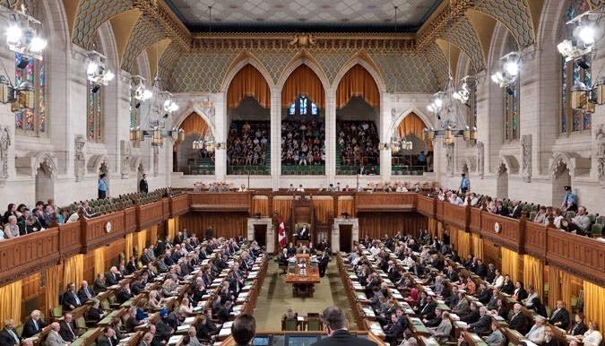 Youmani Jerome au Parlement du Canada