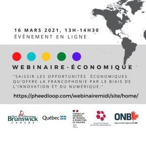Youmani Jérôme Lankoandédonne une communication sur francophonie et innovation numérique